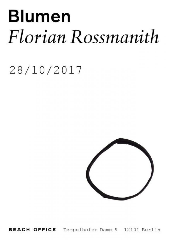 Florian Rossmanith Beach Office Blumen